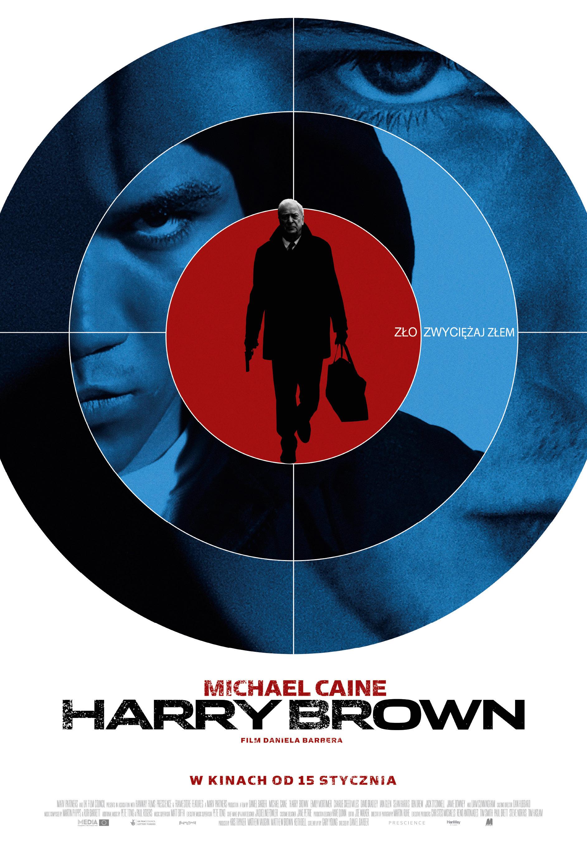 Polski plakat filmu 'Harry Brown'