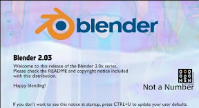 3D Software Blender 2.03