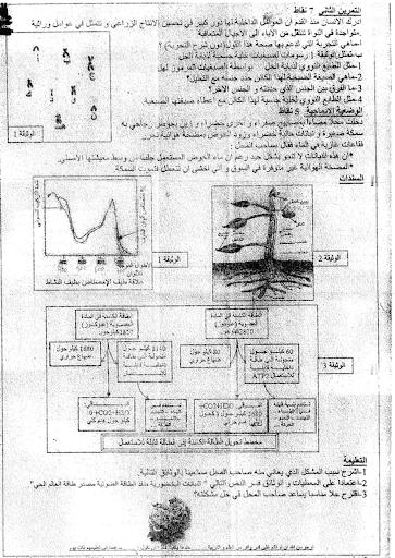 الاختبار الثاني في العلوم الطبيعية للسنة الاولى ثانوي علمي نموذج 4 9.png