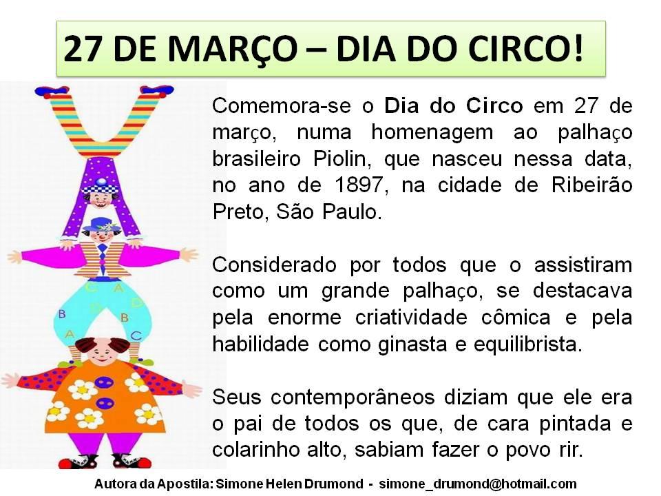 Simone Helen Drumond A História Do Circo Volume 1 Simone Helen