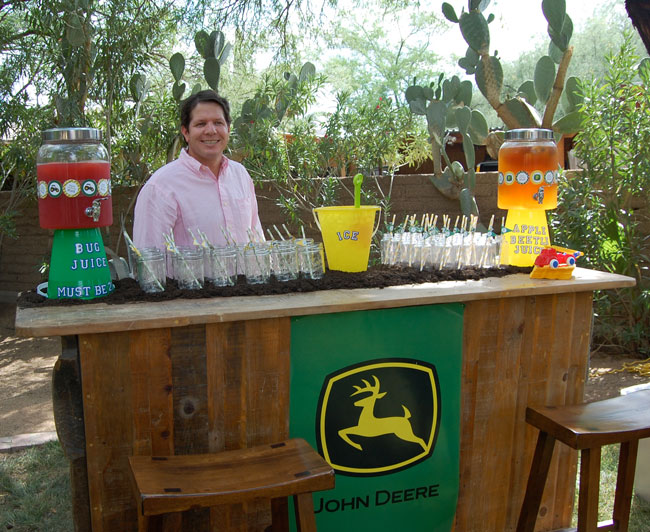 John deere party ford is 2 chickabug for Food bar john roe
