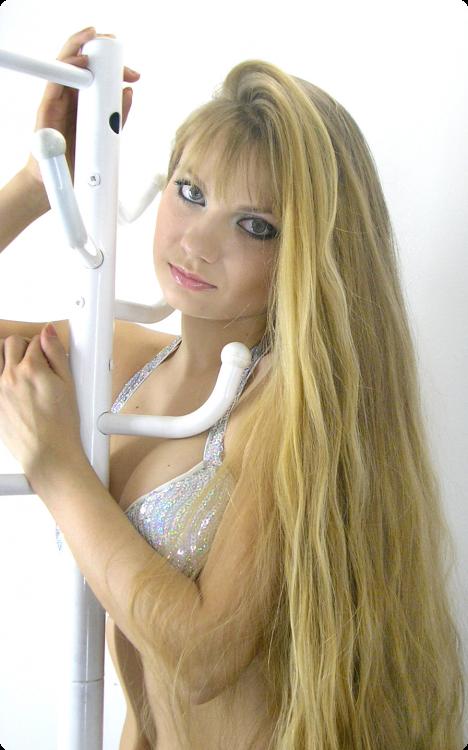 Natural long Hair photo images