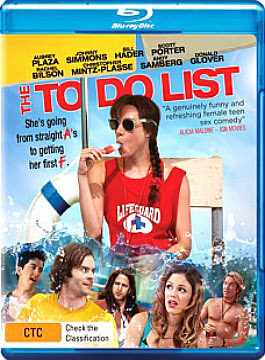 Filme Poster The To Do List BRRip XviD & RMVB Legendado