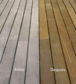 mantenimeinto de la madera