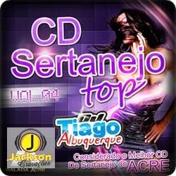 CD Sertanejo Top Vol.04 - Dj Tiago Albuquerque - Lançamento - 2013