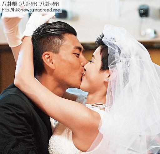 鬼妹仔性格的陳茵媺,之前同黃宗澤在《烈火雄心 3》中有多場激烈親熱戲。