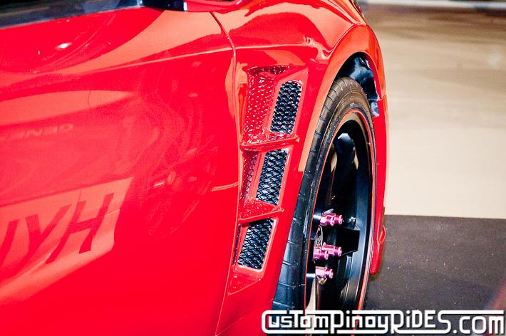 Hyundai Genesis Coupe Body Kit Designs by Atoy Customs 2012 Manila Auto Salon Custom Pinoy Rides pic8