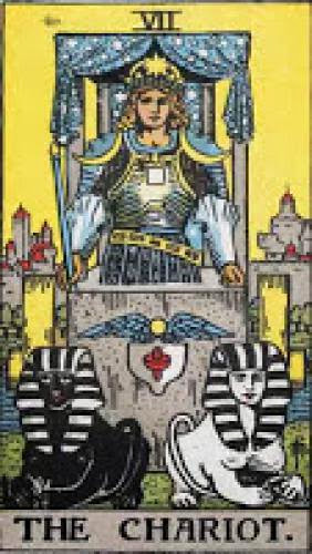 Tarot Card Meaning For The Chariot Rws And Thoth