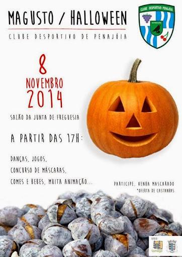Magusto/Halloween - Penajóia - 8 de Novembro de 2014