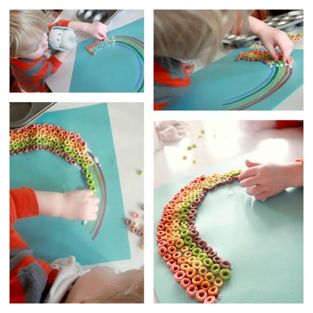 sassy rainbow crafts for