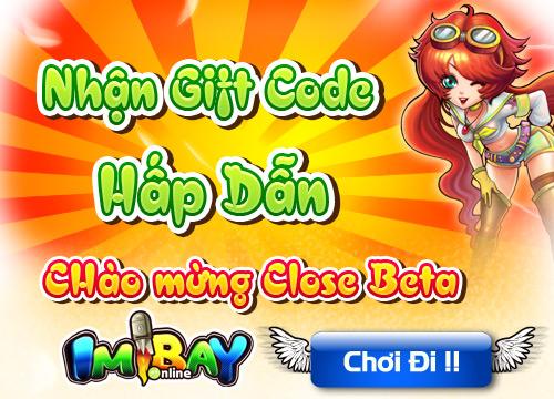 GameLandVN tặng 200 giftcode IMBay Online 1