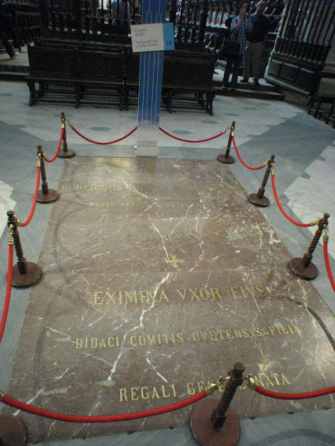Tomb of El Cid, La Catedral de Burgos