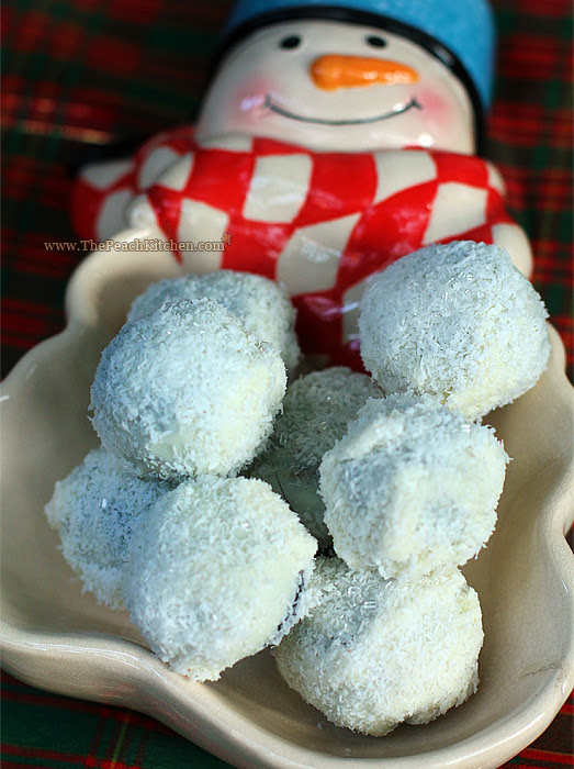 Coconut Snowballs | www.thepeachkitchen.com