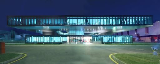 Ferrari Operational Headquarters and Research Centre, Modena,Italy design by Massimiliano and Doriana Fuksas