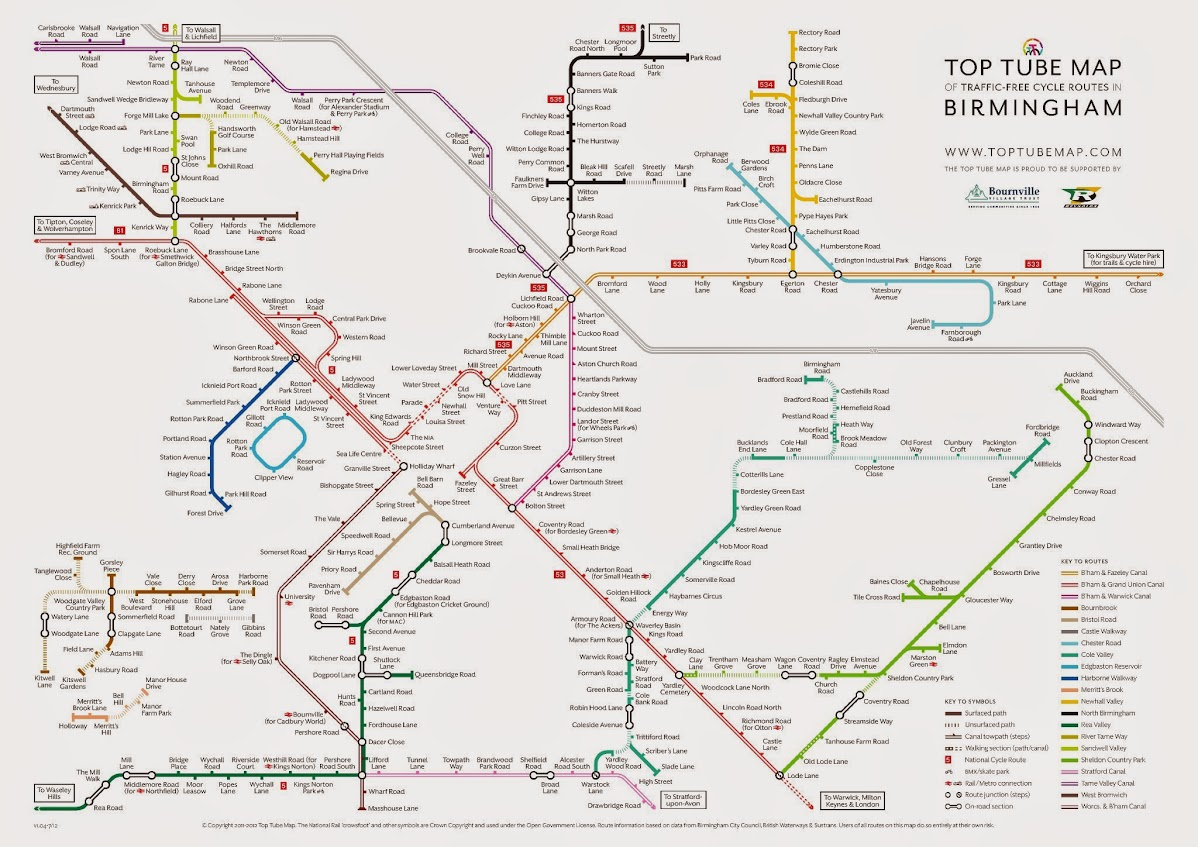 21 innovative Birmingham Transport Map bnhspinecom