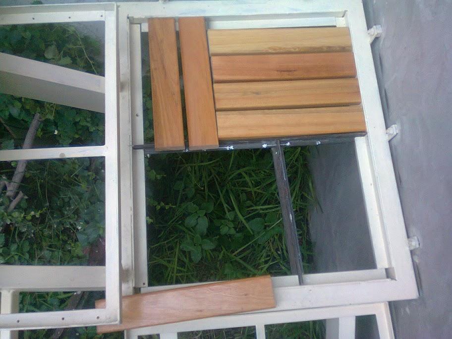 [Paso a Paso] Construí mi propia escalera de hierro y mader
