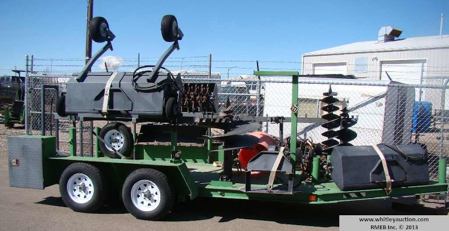 Power Trac Trailer & Attachments