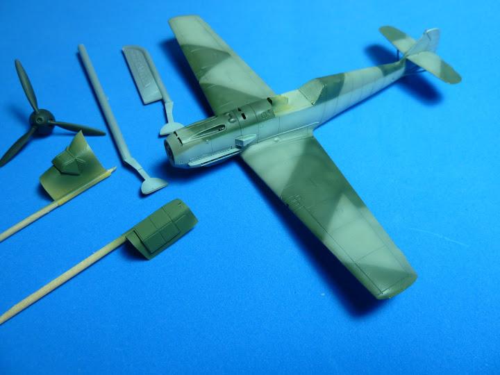 "Messerschmmit Bf 109 E-3 - Major Hans ""Assi"" Hahn P1040031"