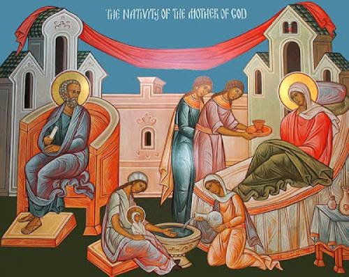 The Nativity Of The Theotokos - St Nikolai Velimirovich