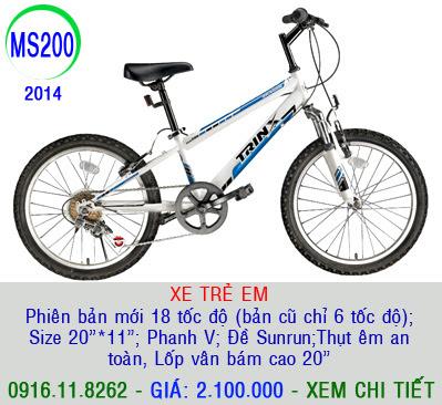 XE ĐẠP THỂ THAO, xe dap the thao, xe dap trinx, xe đạp thể thao chính hãng, xe dap asama,  MS200
