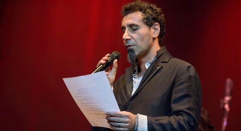 Serj Tankian será palestrante em evento na Armênia