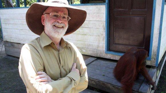 Terry Pratchett i orangutany