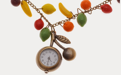 Time for Fruit Salad Necklace Tutorial