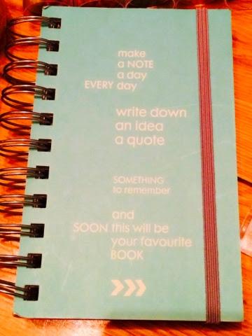 HEMA note book