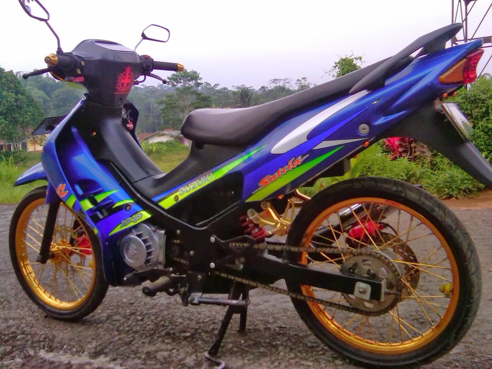 Suzuki Satria Hiu Modifikasi