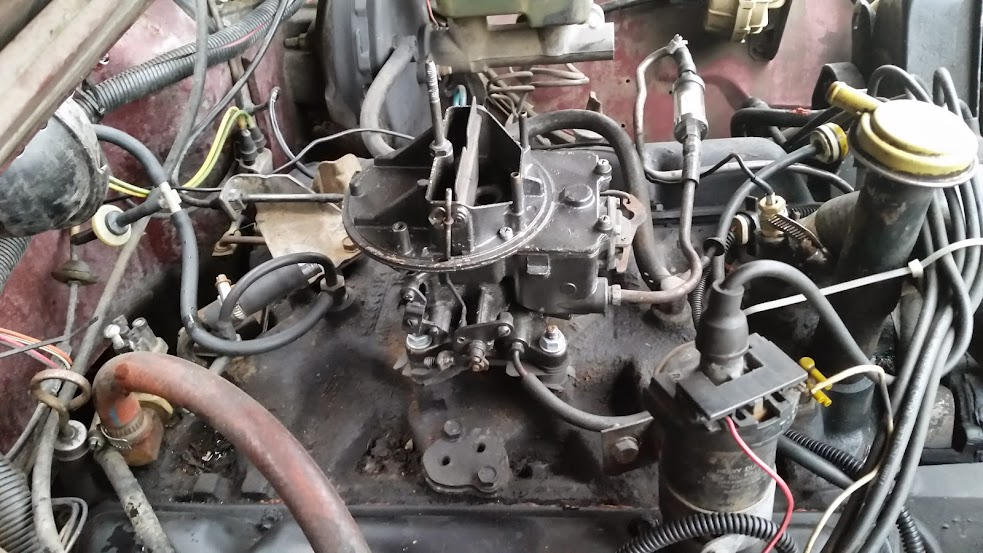 4 Barrel carb conversion - JeepForum com