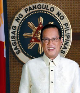 Benigno Aquino III painting