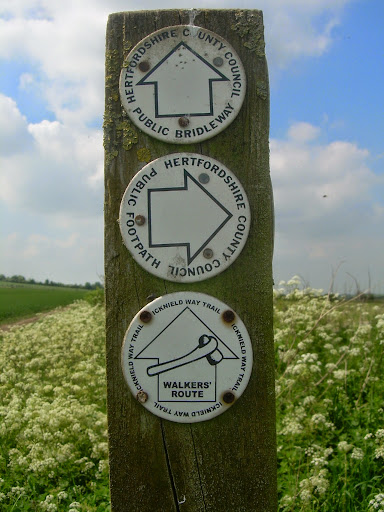 Icknield Way marker