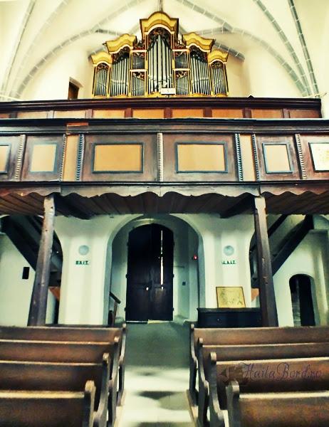 orga biserica evanghelica saschiz