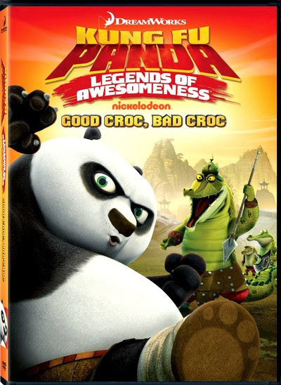 Poster Of English Movie Kung Fu Panda Good Croc Bad Croc (2013) Free Download Full New Hollywood Movie Watch Online At Alldownloads4u.Com