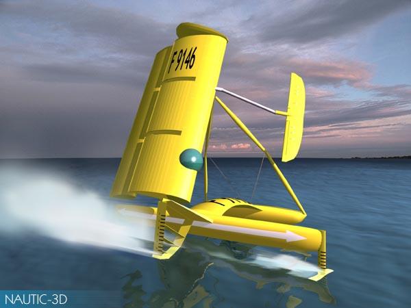 FMV Five Seas Race  - Page 2 %2520voilier%2520futuriste