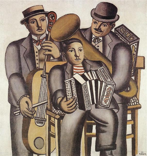 Fernand Léger - Les trois musiciens (1930)