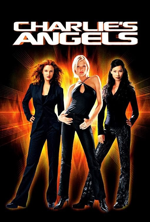 Poster Of Charlie's Angels (2000) Full Movie Hindi Dubbed Free Download Watch Online At Alldownloads4u.Com