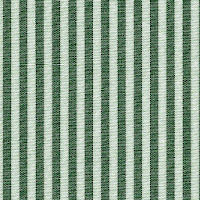 Green and white striped shirt made to measure online