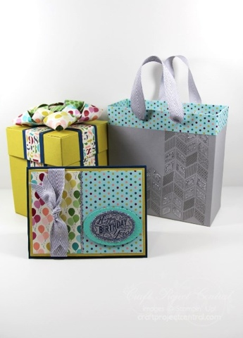 Birthday Cake Explosion Box Gift Set