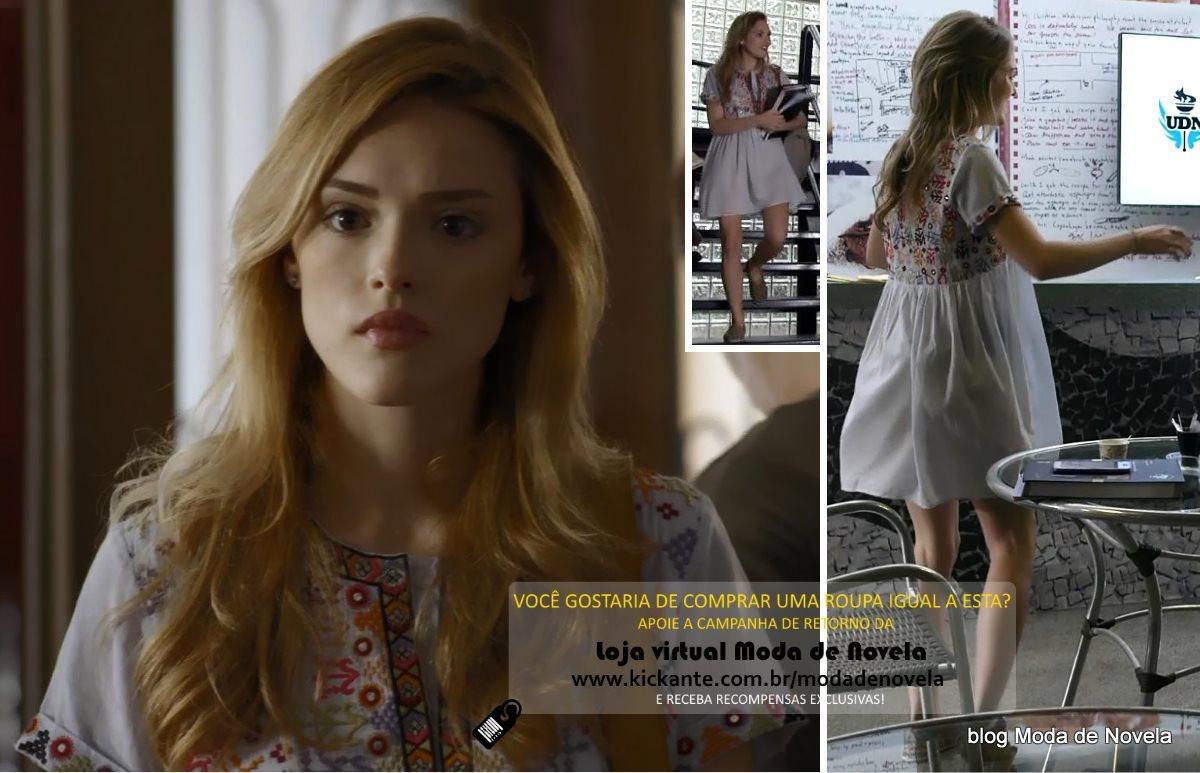 moda da novela Sete Vidas, look da Julia dia 11 de março de 2015