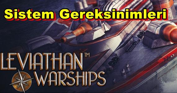 Leviathan Warships PC Sistem Gereksinimleri