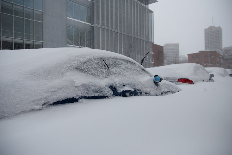 Two feet of snow: the best anti-car-theft device.