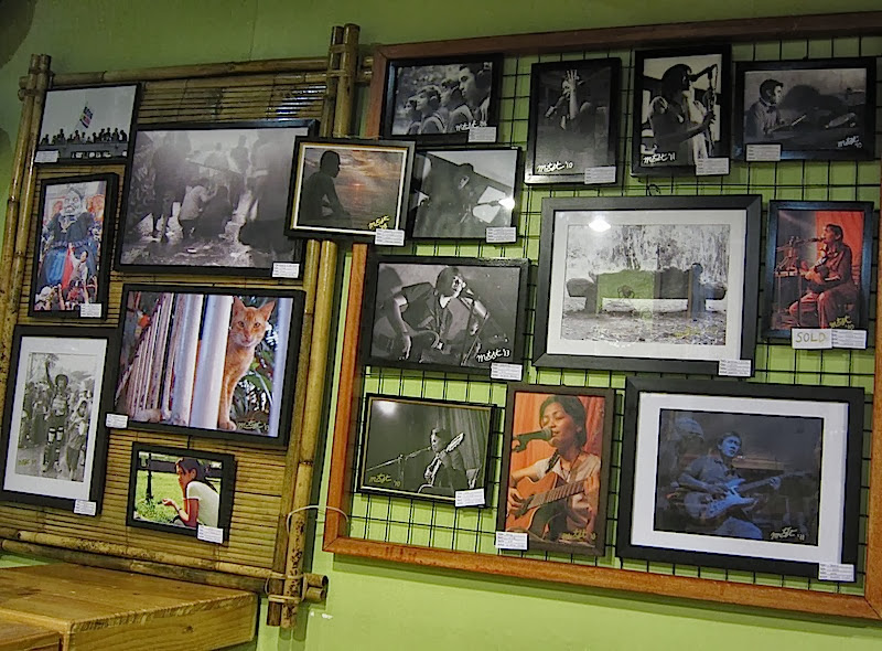 framed photos for sale at Old Oven Art Cafe