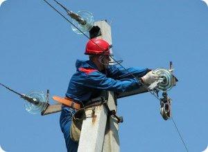 Отключение электроснабжения на территории Тверской области