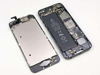 ¿Cómo es el interior del iPhone 5?