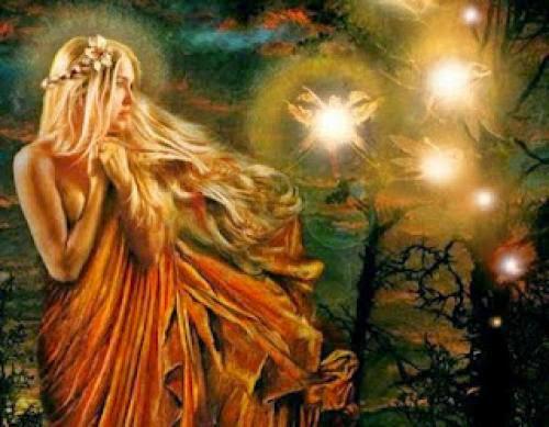 Diosa De La Wicca Gardneriana