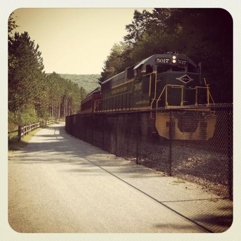 lehigh valley gorge tour train jim thorpe instagram