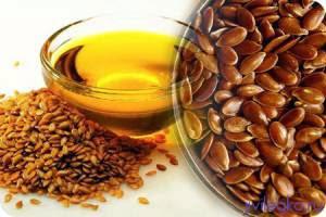Очищение льняным семенем кишечника