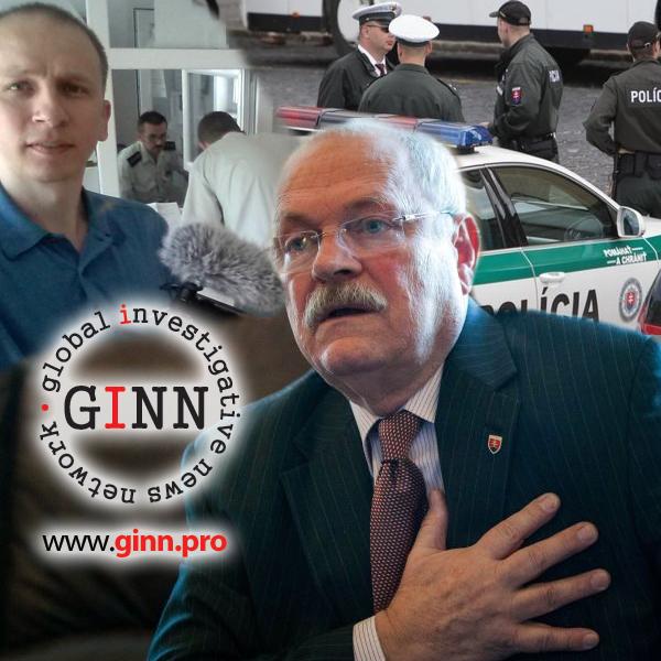 Pri návšteve Prezidenta Ivana Gašparoviča zadržali novinára Martina Daňa
