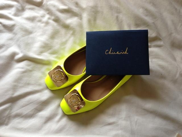 Chicwish Neon Flats